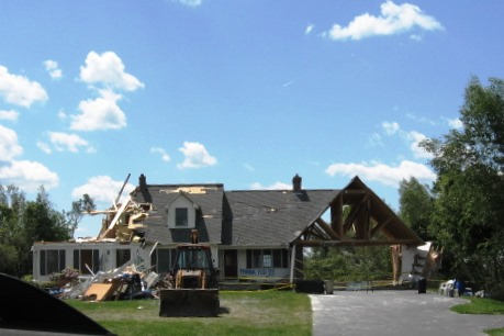 Residential Tornado Damage Insurance Claims AI/MBC