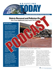 Debris Removal and Pollution Damage